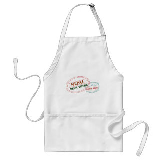 Nepal Been There Done That Standard Apron