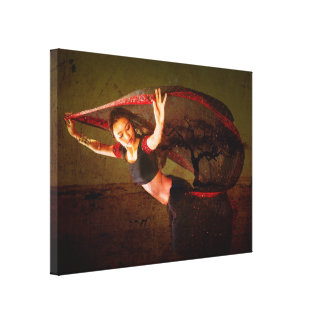 Nepal Dancer Canvas Print