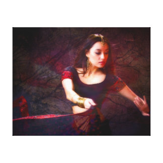 Nepal Dancer Canvas Print