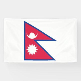 Nepal Flag Banner