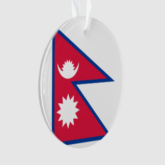 Nepal Flag Ornament