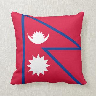 Nepal Flag pillow