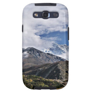 Nepal Mount Everest Glaciers Lakes Scenic View Samsung Galaxy SIII Covers