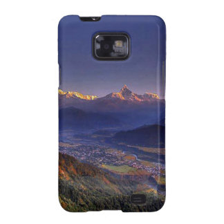 Nepal Mount Everest : Glaciers, Lakes, Scenic View Galaxy S2 Covers