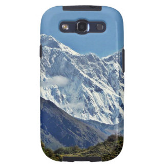 Nepal Mount Everest Glaciers Lakes Scenic View Galaxy S3 Cover