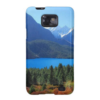 Nepal Mount Everest Glaciers Lakes Scenic View Samsung Galaxy SII Cases