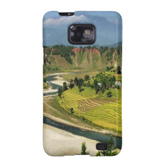 Nepal Mount Everest Glaciers Lakes Scenic View Galaxy SII Case