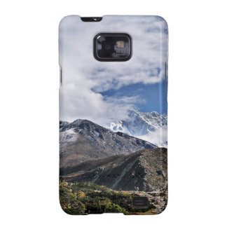 Nepal Mount Everest Glaciers Lakes Scenic View Galaxy S2 Cover