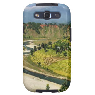 Nepal Mount Everest Glaciers Lakes Scenic View Samsung Galaxy S3 Cover