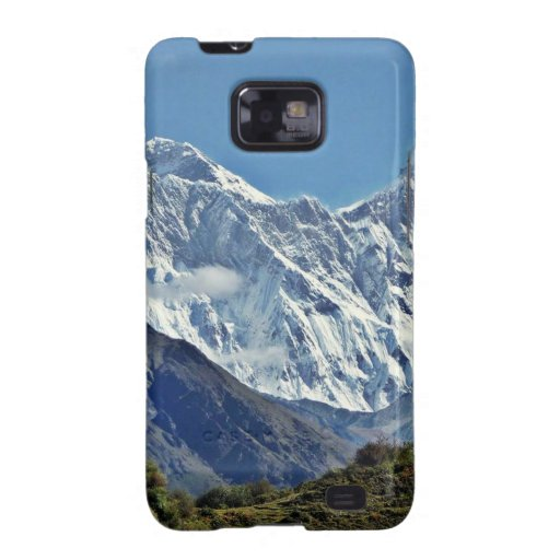 Nepal Mount Everest : Glaciers, Lakes, Scenic View Galaxy S2 Cover