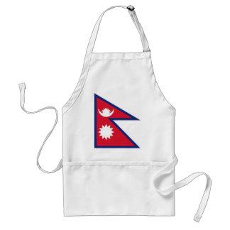 Nepal National Flag Apron