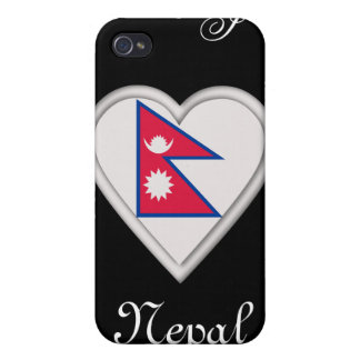 Nepal Nepalese flag iPhone 4/4S Cases