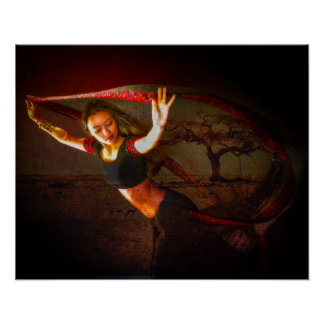 Nepalese Dancer Poster