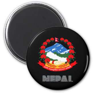 Nepalese Emblem Magnet