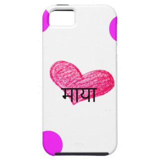 Nepali Language of Love Design iPhone 5 Case