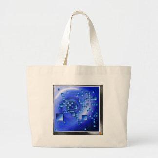 Nepheros V1 - planet square Large Tote Bag