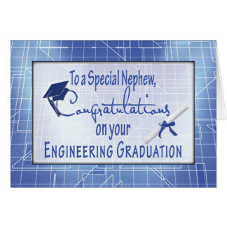 Nephew, Engineering Graduation Congratulations, Bl Card