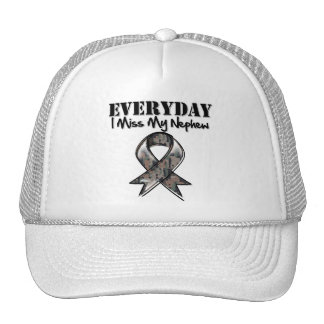 Nephew - Everyday I Miss My Hero Military Trucker Hat