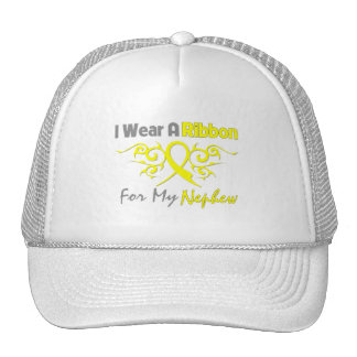 Nephew - I Wear A Yellow Ribbon Military Support Trucker Hat