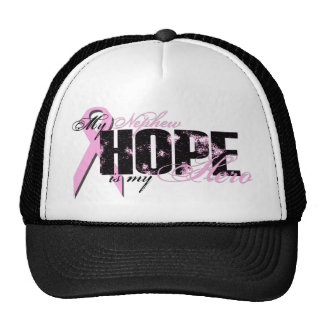 Nephew My Hero - Breast Cancer Hope Trucker Hat