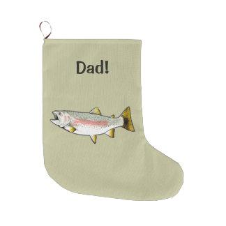 Nephew: Rainbow Trout Large Christmas Stocking