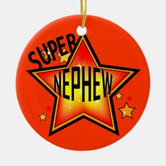 Nephew Super Star Christmas Ornament