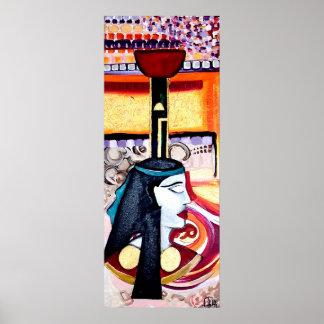 NEPTHYS EGYPTIAN GODDESS ART Print