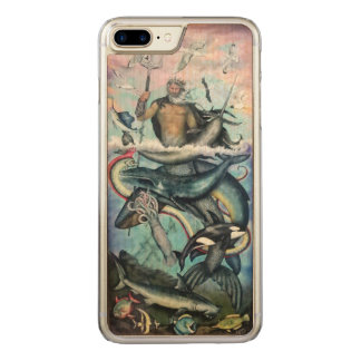 Neptune Carved iPhone 8 Plus/7 Plus Case