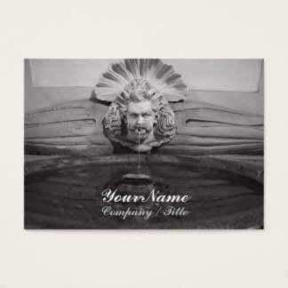 Neptune Drinking Fountain Business Card