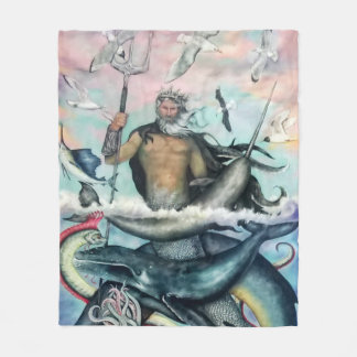 Neptune Fleece Blanket