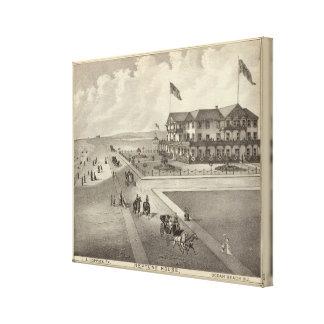 Neptune House, Ocean Beach, NJ Canvas Print