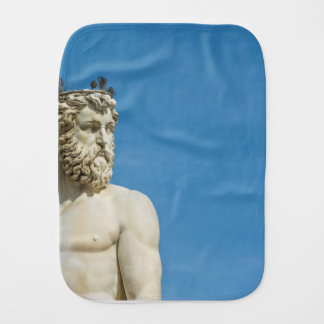 Neptune in Florence02 Burp Cloth