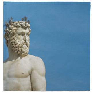 Neptune in Florence02 Napkin