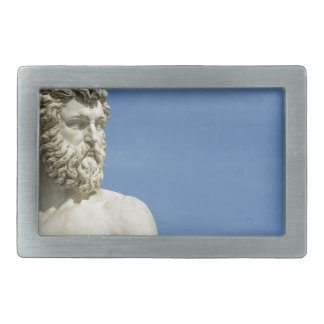 Neptune in Florence02 Rectangular Belt Buckles