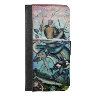 Neptune iPhone 6/6s Plus Wallet Case