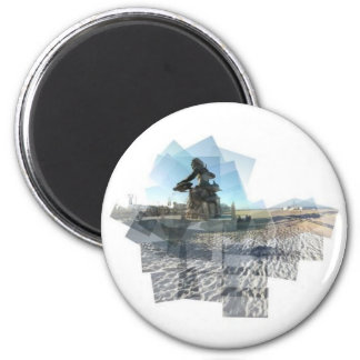 Neptune Panograph 2 Inch Round Magnet