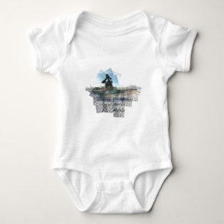 Neptune Panograph Baby Bodysuit