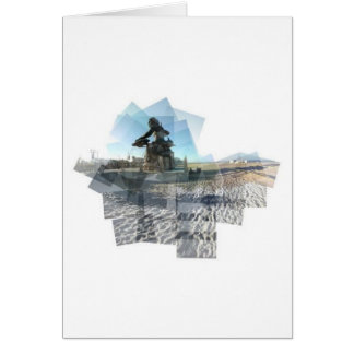 Neptune Panograph Greeting Card