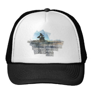 Neptune Panograph Mesh Hat