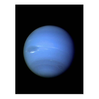 Neptune planet NASA Postcard