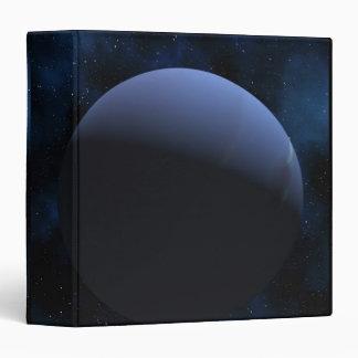 Neptune planet vinyl binder
