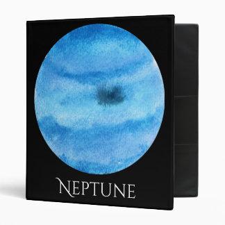Neptune Planet Watercolor Binder