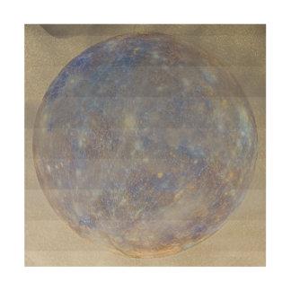 Neptune Rising Wood Print