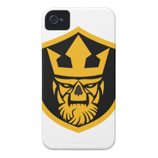 Neptune Skull Front Shield Case-Mate iPhone 4 Cases
