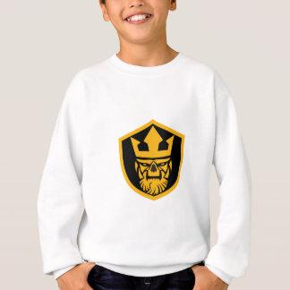 Neptune Skull Front Shield Sweatshirt