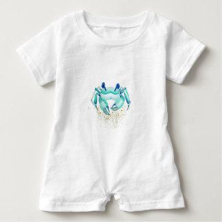 Neptune's Crab Baby Romper