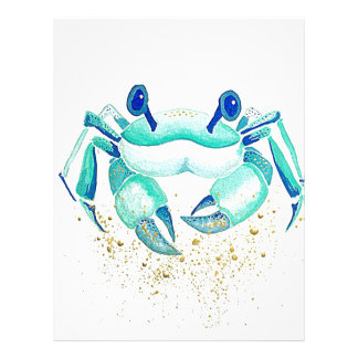 Neptune's Crab Letterhead
