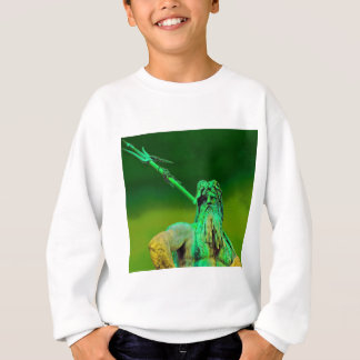 Neptunes Fountain, Alexanderplatz, Berlin(n2b) Sweatshirt