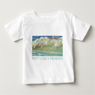 NEPTUNE'S HORSES RIDE THE WAVES BABY T-Shirt