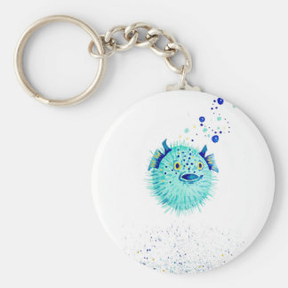 Neptune's Pufferfish Keychain